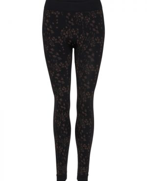 Tim og Simonsen Leggings 0441 Leopard Black