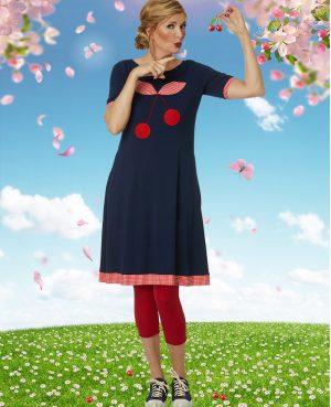 Du Milde kjole DuCaroline Cherry Berry
