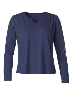 Du Milde DuPetra Bluse Basic Blue
